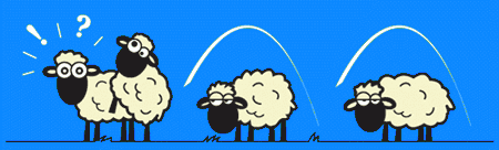 """Résultat de recherche d'images pour """"dessin humour saute mouton"""""""