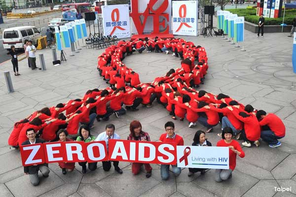 World-Aids-Day-25-Taipei-Taiwan
